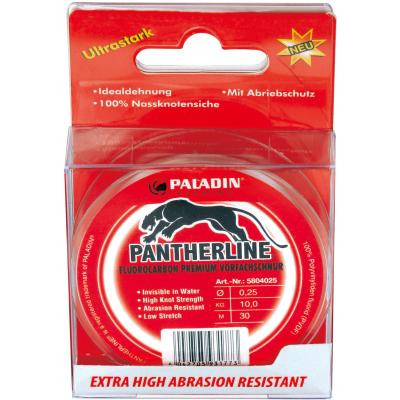Paladin Pantherline Fluoro Carbon Vorfachschnur 30m 0,18mm
