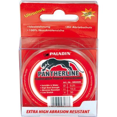 Paladin Pantherline Fluoro Carbon Leader Line 30m 0,25mm