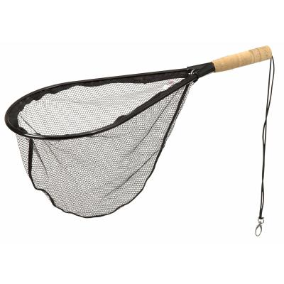 DAM wading net with cork handle 60X28cm rubberized