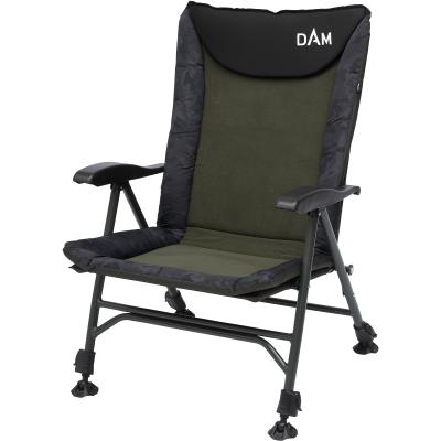 DAM Camovision Easy Fold Chair With Armrests Alu