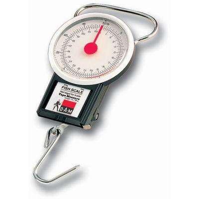 DAM FISH SCALE with integrated measuring tape