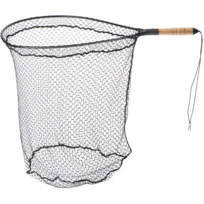 Cormoran sea trout net floating cork handle 1 piece. 60x50cm 15 / 20mm