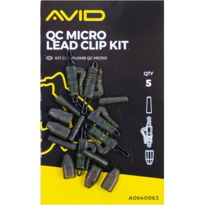 Avid Carp Qc Micro Lead Clip Kit