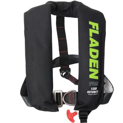 FLADEN life jacket Inflatable D-ring 150N automatic ISO 12402.3
