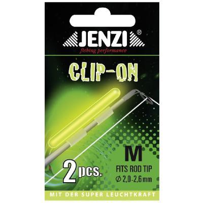 "JENZI stick light ""CLIP-ON"" for rod tip 3,3-3,7mm"