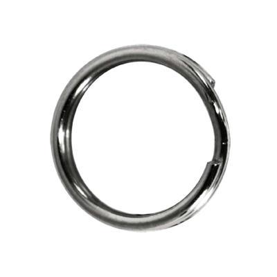 JENZI Strong anneaux de saut en acier inoxydable, taille 14
