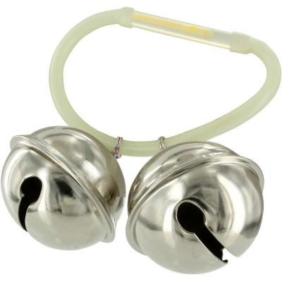 Bell set for catfish fishing extremely loud incl. Rod attachment Gr. 40mm