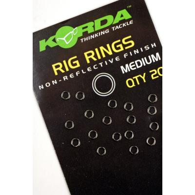 Korda Rig Ring Medium - 20 pieces