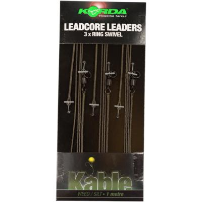 Korda Leadcore Leader Ring Swivel - 3 per pack - 1 m
