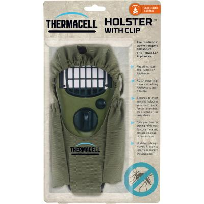 Thermacell holster for handheld device olive green