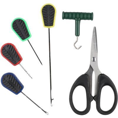 Mikado bait needles - needle set with scissors