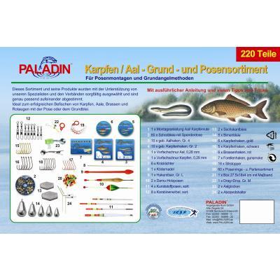 Paladin carp eel basic float range