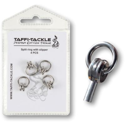 Taffi-Tackle Split ring with slipper