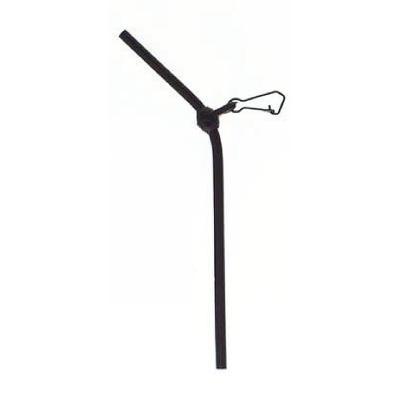 Paladin Spacer - Anti Tangle Boom Plastic curved black 15cm SB3