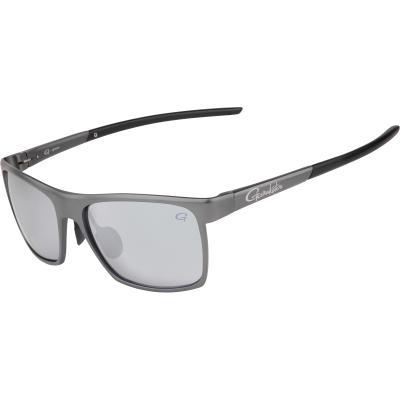 Gamakatsu G-Glasses Alu Light Gray / White Mirror