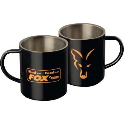 FOX Stainless Black XL 400ml Mug FFF