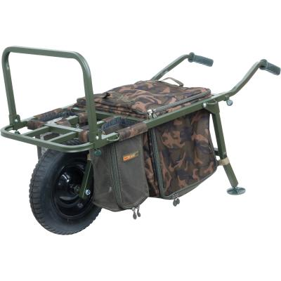 FOX FX Explorer Barrow and Camo Lite Bag inc 2 straps & mesh bags