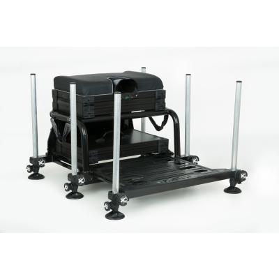 Matrix S25 super box BLACK inc 1 x shallow trays & lid