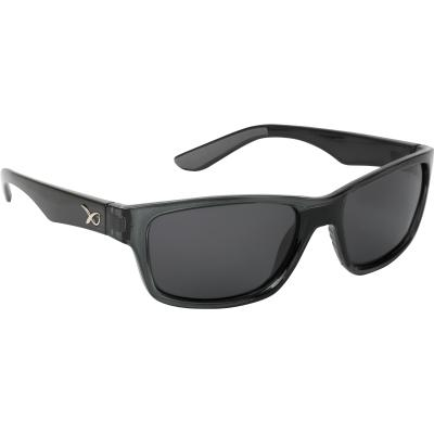 Matrix Glasses Casual Trans black / grey lense