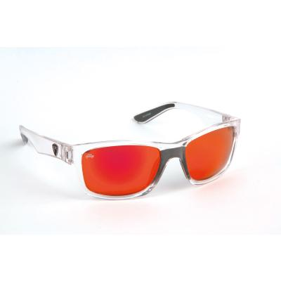 Fox Rage Sunglasses trans / Mirror Red fiinish / grey lense