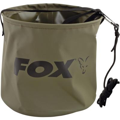 Fox Collapsable Large water bucket inc rope/clip