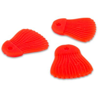 Fox Rage Predator bait fins red x 25pcs