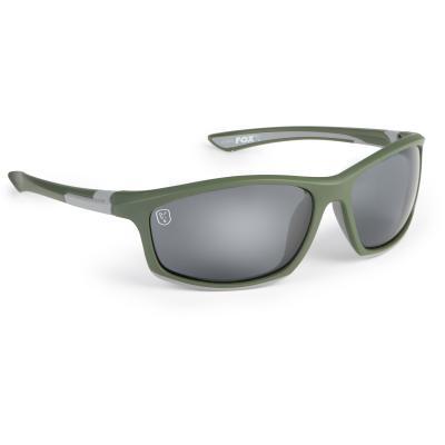Fox Green / Silver avec verres gris
