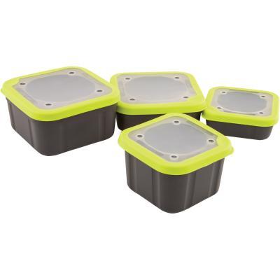 Boîte à appâts Matrix 3.3pt gris / lime SOLID TOP