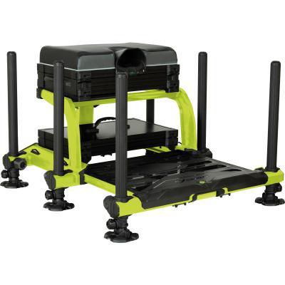 Matrix XR36 Pro Lime Seatbox inc 1x plateaux peu profonds et couvercle + tiroir profond