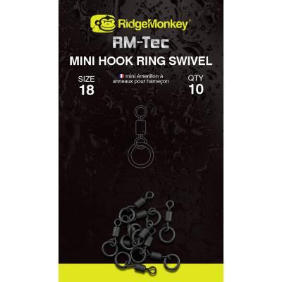 RidgeMonkey Tec Mini Hook Ring Swivel