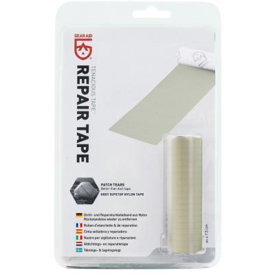Gear Aid Repair Tape Gray Ripstop Nylon 50x7,5cm