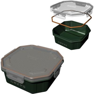 Grays Klip-Lok Box 3.4Pt Perf Lid