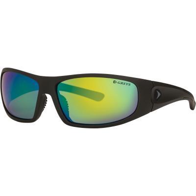 Grays G1 Sunglasses (Matt Carbon / Green Mirror)