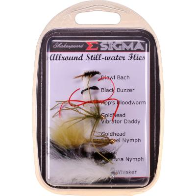 Shakespeare Sigma Fly Selection 3 All Round Stillwater Flies