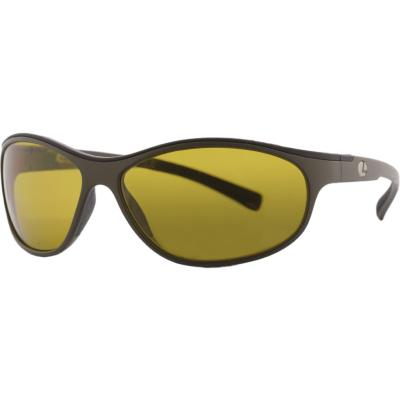 Lenz Coosa Discover Sunglasses Army Green w/Yellow Lens