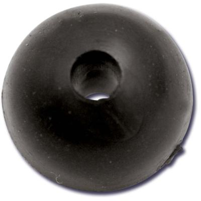Black Cat Gummi Perlen 10mm, 10 St.