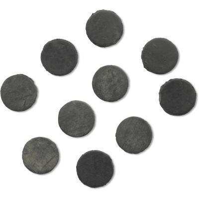 Rhino 15mm Black Cat Bait Stop 10 pieces 15mm