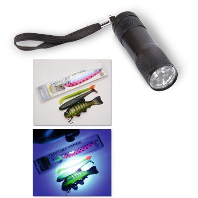 Quantum UV flashlight