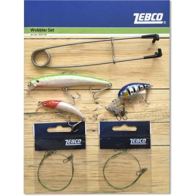 Zebco wobbler set 11 parts