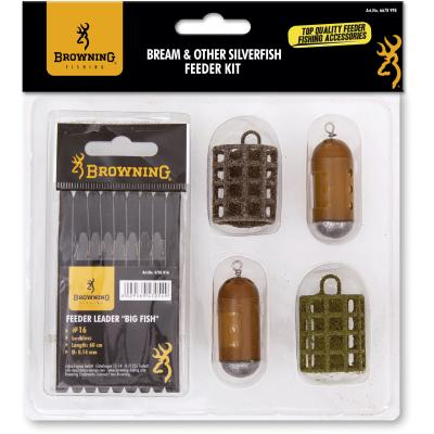 Browning Bream & Other Silverfish - Feeder Kit