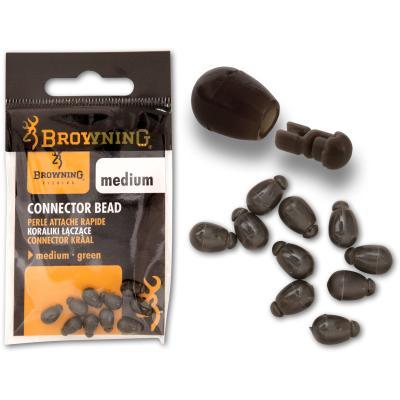 Browning Connector Bead vert 10 pièces moyen
