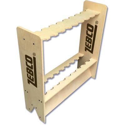 Zebco wooden rod stand 70cm 20cm 70cm