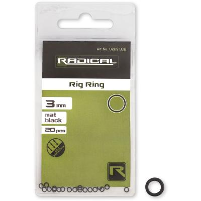 Radical Rig Ring Ø 3,1mm mat black non reflective